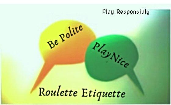 Roulette Etiquette Image